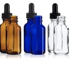 Glass Tincture Bottles