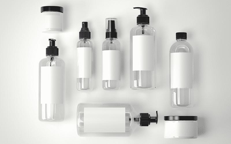 plastic bottles & jars